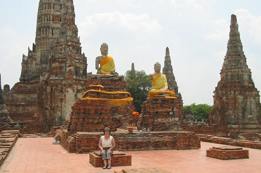 Ayutthaya (the old capital of Thailand) (photo by Peter Thorogood)
